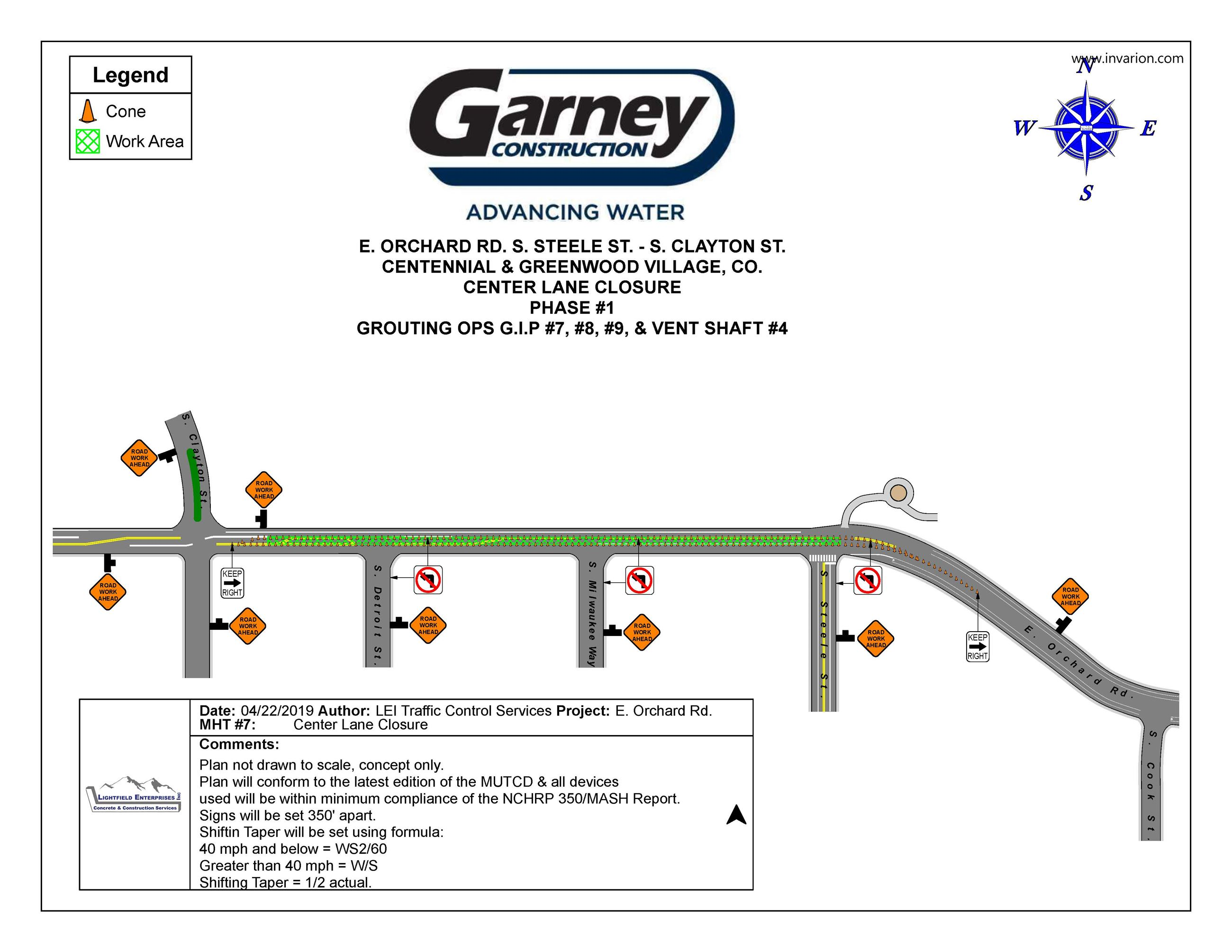 GARNEY COLSMAN TUNNEL PH 1 CLCA MHT 7